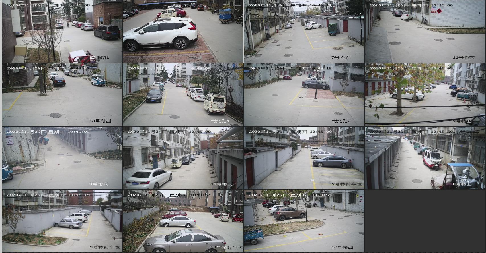山东华展集团建筑工程有限公司社区视频汇聚项目截图